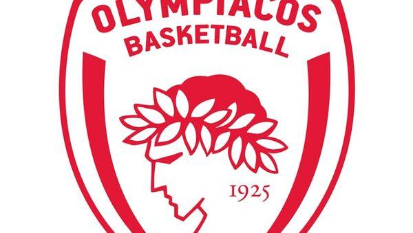 Το έμβλημα του Ολυμπιακού στο μπάσκετ - Sputnik Ελλάδα