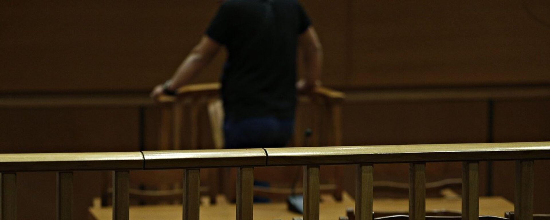 Αίθουσα δικαστηρίου - Sputnik Ελλάδα, 1920, 06.09.2021
