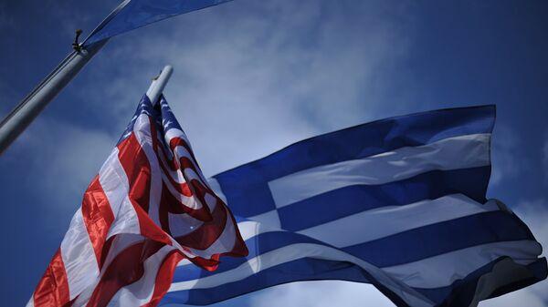 Οι σημαίες Ελλάδας - ΗΠΑ - Sputnik Ελλάδα