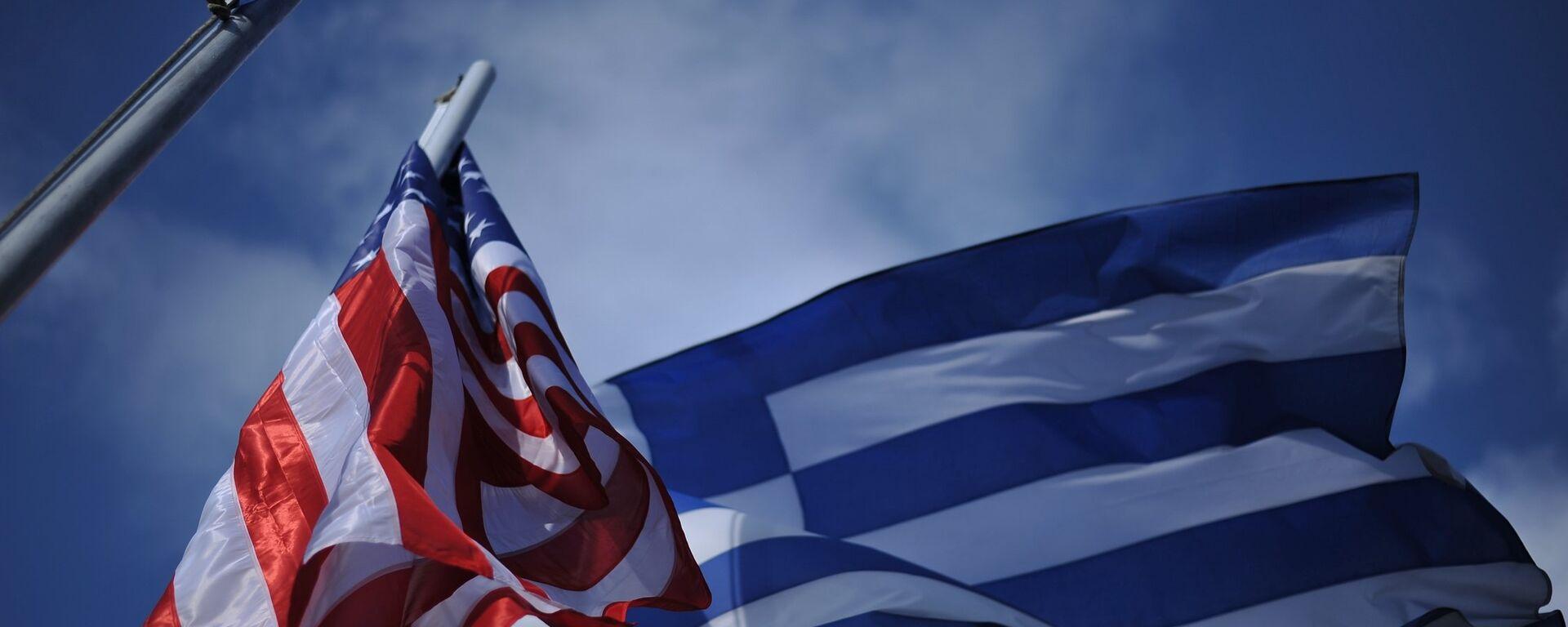 Οι σημαίες Ελλάδας - ΗΠΑ - Sputnik Ελλάδα, 1920, 02.10.2021