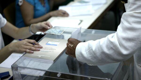 Ψήφος σε κάλπη - Sputnik Ελλάδα