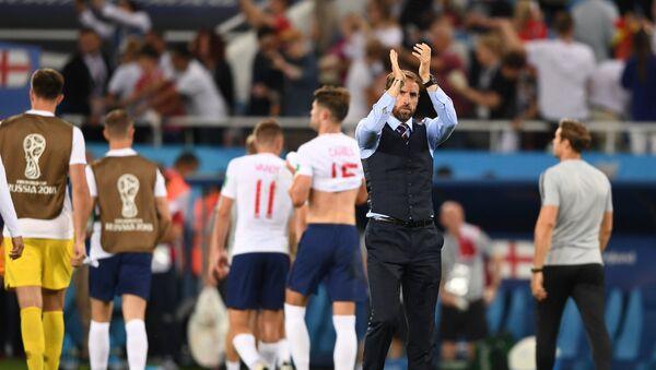 Γκάρεθ Σάουθγκεϊτ, Αγγλία - Βέλγιο 0-1, Παγκόσμιο Κύπελλο 2018, Ρωσία - Sputnik Ελλάδα
