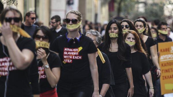 Εμπόριο ανθρώπων - Sputnik Ελλάδα