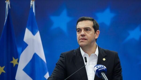Ο πρωθυπουργός Αλέξης Τσίπρας - Sputnik Ελλάδα