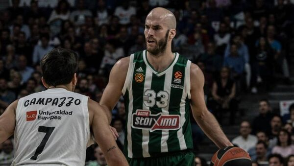 Ο Νικ Καλάθης στο Game 1 με τη Ρεάλ στη Μαδρίτη - Sputnik Ελλάδα