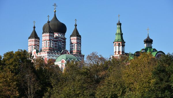 St. Panteleimon's Cathedral in Kiev - Sputnik Ελλάδα