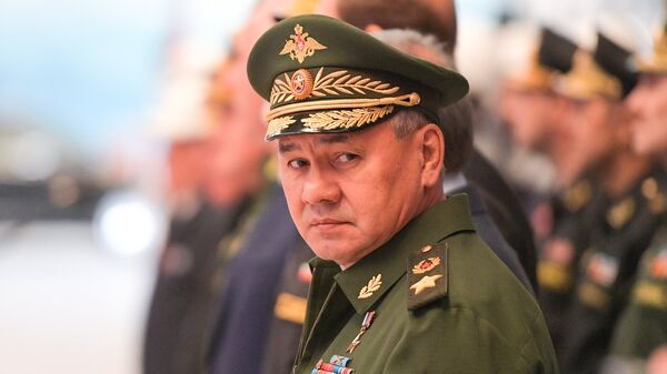 Ο Ρώσος υπουργός Άμυνας Σεργκέι Σοϊγκού - Sputnik Ελλάδα