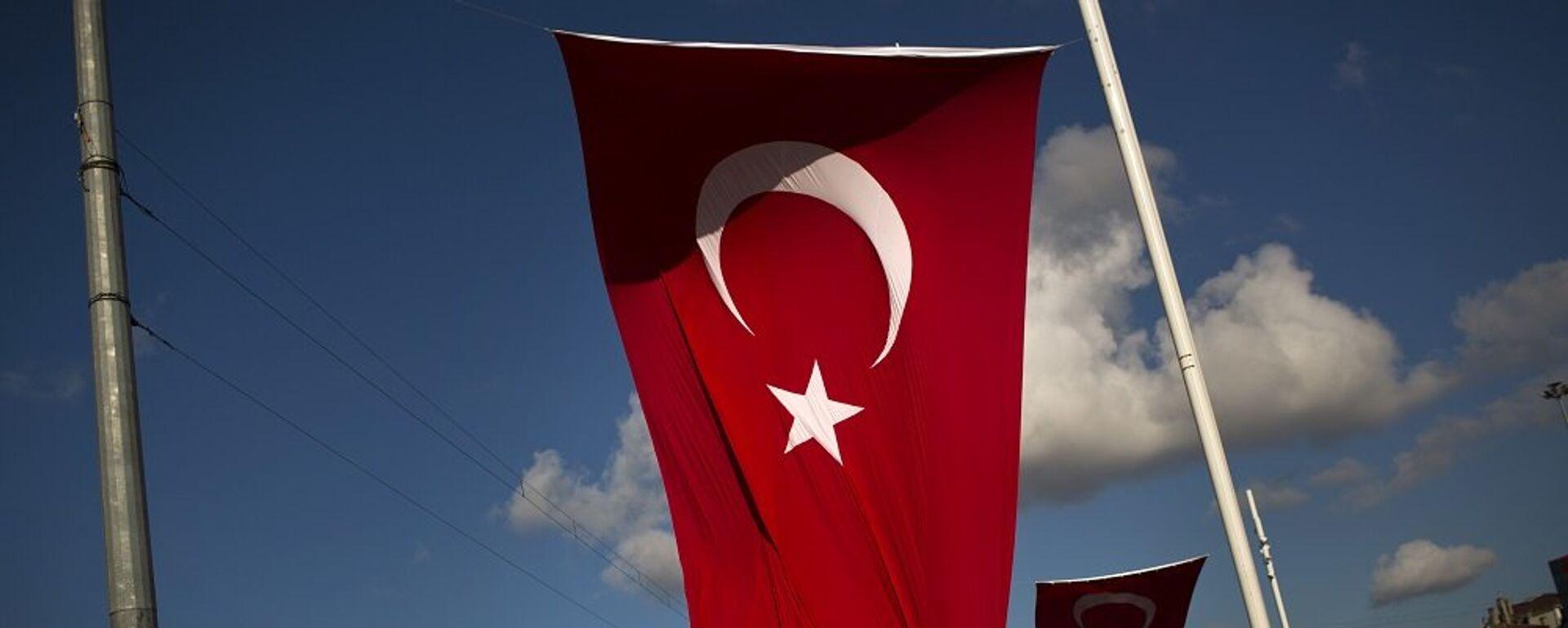 Σημαία της Τουρκίας στην Κωνσταντινούπολη - Sputnik Ελλάδα, 1920, 05.04.2021