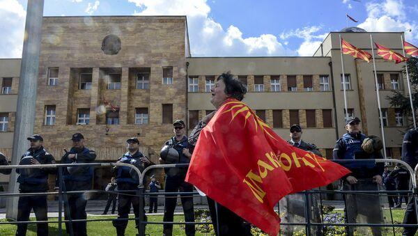 Η Βουλή της ΠΓΔΜ - Sputnik Ελλάδα