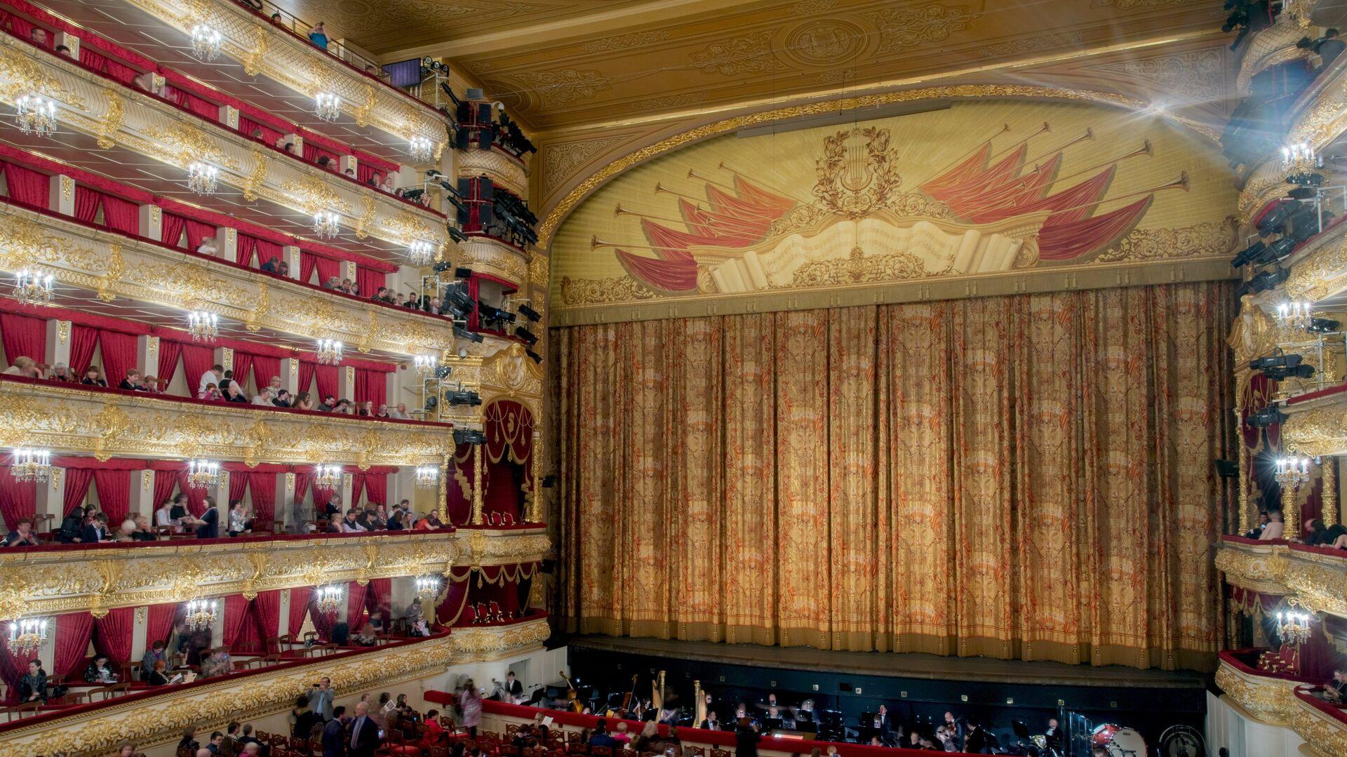 Το θέατρο Μπολσόι στη Ρωσία - Sputnik Ελλάδα, 1920, 11.10.2021