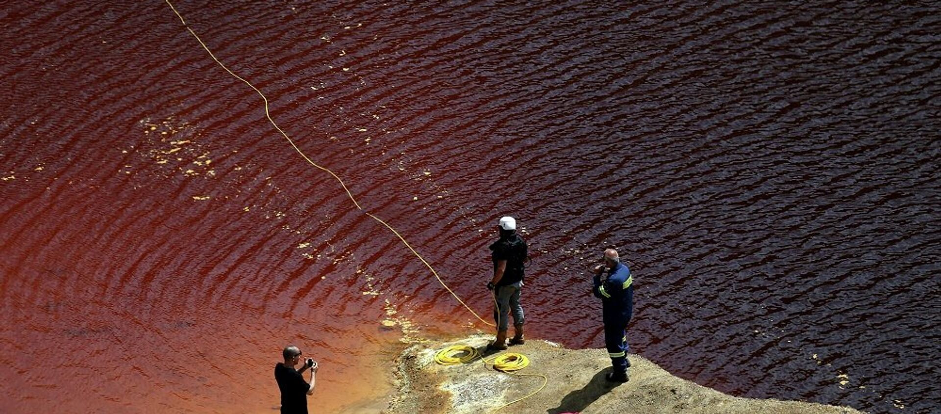 Έρευνες στην Κόκκινη Λίμνη στο Μιτσερό - Sputnik Ελλάδα, 1920, 06.09.2019