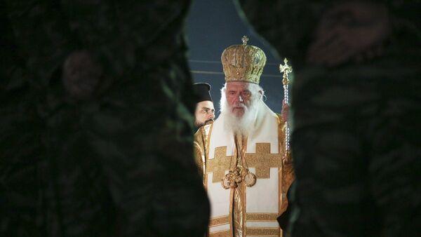 Ο αρχιεπίσκοπος Ιερώνυμος - Sputnik Ελλάδα