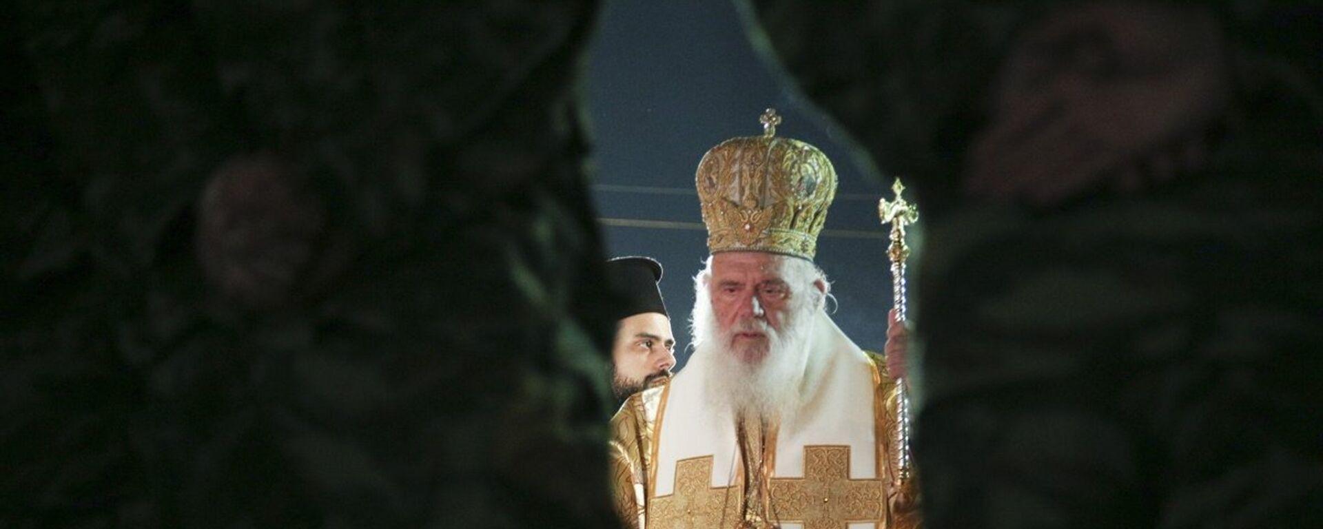Ο αρχιεπίσκοπος Ιερώνυμος - Sputnik Ελλάδα, 1920, 30.10.2019
