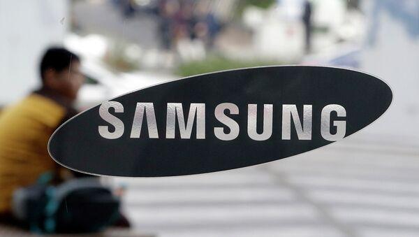 Το σήμα της Samsung  - Sputnik Ελλάδα
