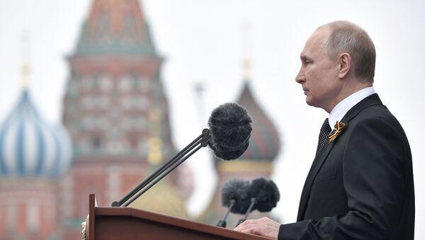 Η ομιλία του Ρώσου προέδρου, Βλαντίμιρ Πούτιν, για την 74η επέτειο της Νίκης - Sputnik Ελλάδα