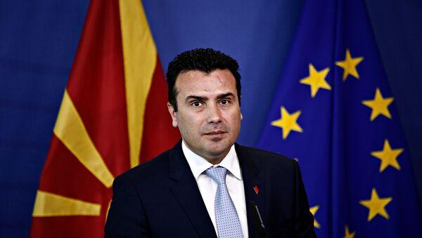 Ο πρωθυπουργός της πΓΔΜ, Ζόραν Ζάεφ - Sputnik Ελλάδα