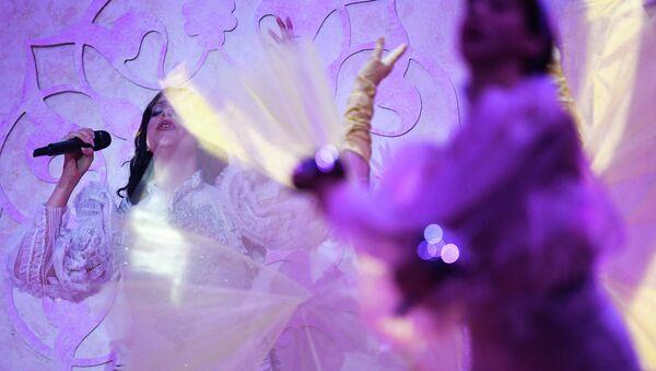 Η Κατερίνα Ντούσκα στον πρώτο ημιτελικό της Eurovision 2019 στο Τελ Αβίβ - Sputnik Ελλάδα