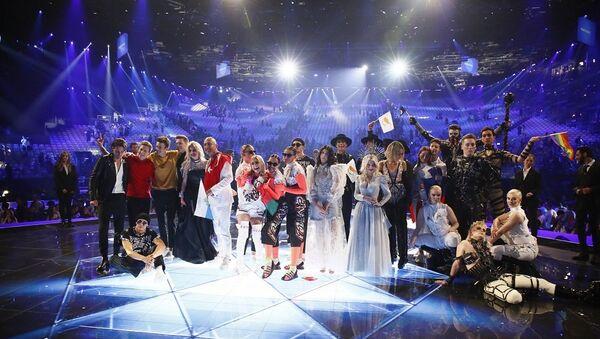 Οι τραγουδιστές των 10 χωρών του πρώτου ημιτελικού της Eurovision που προκρίθηκαν στον τελικό - Sputnik Ελλάδα