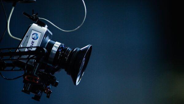 Τηλεοπτική κάμερα στο συνέδριο του ΣΥΡΙΖΑ - Sputnik Ελλάδα