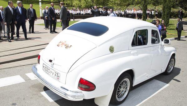 Το αυτοκίνητο του Ρώσου υπουργού Εξωτερικών - Sputnik Ελλάδα