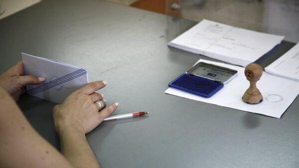 Ψηφοφορία σε εκλογές - Sputnik Ελλάδα