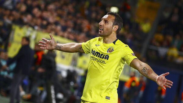 Ο διεθνής Ισπανός ποδοσφαιριστής άσος Σάντι Καθόρλα - Sputnik Ελλάδα