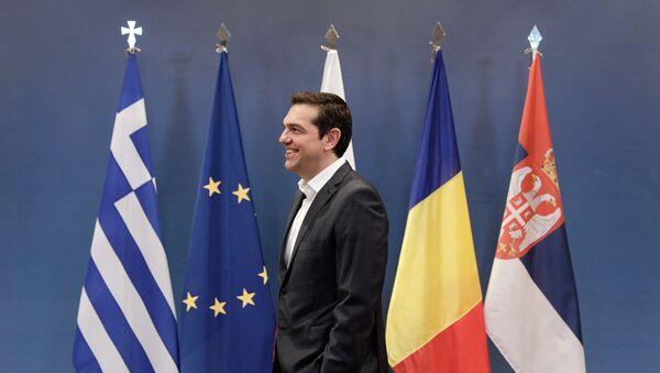 Ο Αλέξης Τσίπρας στην Τετραμερή της Θεσσαλονίκης - Sputnik Ελλάδα