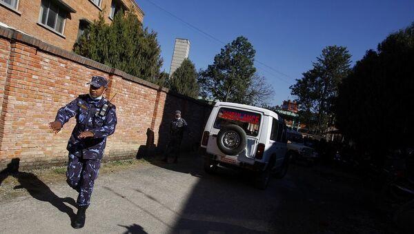 Αστυνομικός στο Νεπάλ - Sputnik Ελλάδα