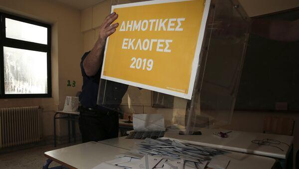 Καταμέτρηση ψήφων, Μάιος 2019 - Sputnik Ελλάδα