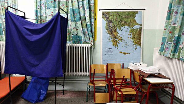 Παραβάν εκλογών - Sputnik Ελλάδα