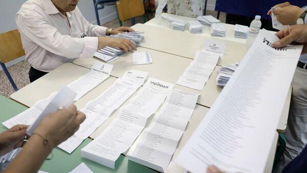 Καταμέτρηση στις εκλογές - Sputnik Ελλάδα