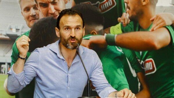 Ο τεχνικός διευθυντής της ΠΑΕ Παναθηναϊκός, Νίκος Νταμπίζας - Sputnik Ελλάδα