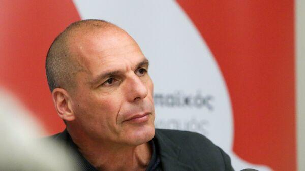 Συνέντευξη Τύπου του Γιάνη Βαρουφάκη μετά τις ευρωεκλογές, Μάιος 2019 - Sputnik Ελλάδα