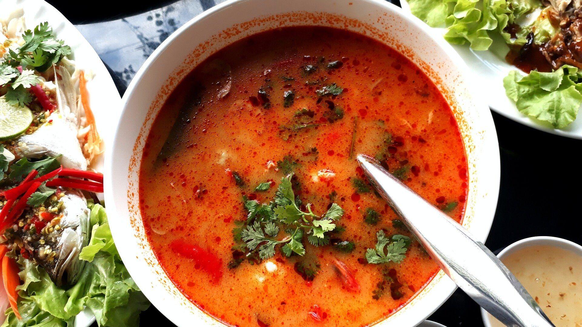 Η ταϊλανδέζικη σούπα tom yum - Sputnik Ελλάδα, 1920, 06.10.2021