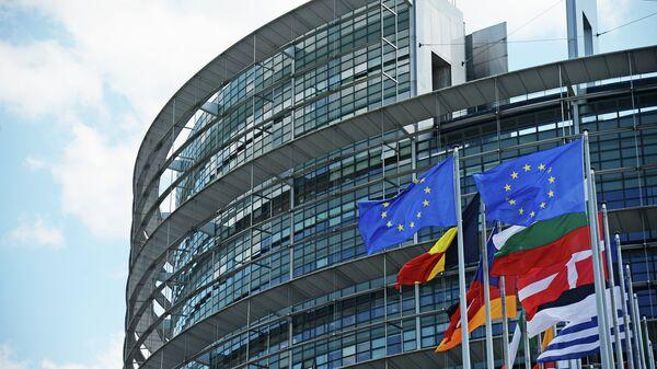Το Ευρωπαϊκό Κοινοβούλιο στο Στρασβούργο - Sputnik Ελλάδα