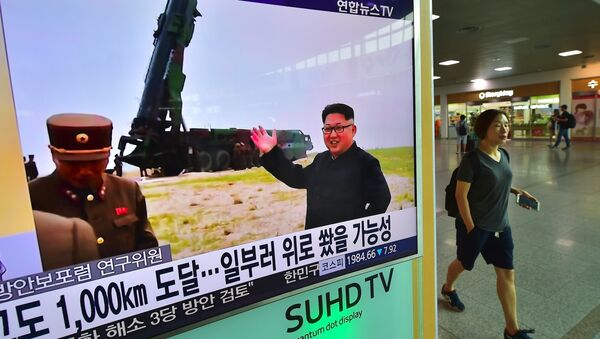 Εκτόξευση πυραύλου από τη Βόρεια Κορέα - Sputnik Ελλάδα