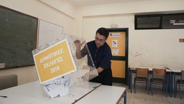 Καταμέτρηση ψήφων στις δημοτικές εκλογές 2019 - Sputnik Ελλάδα