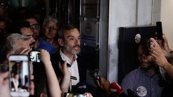 Ο δήμαρχος Θεσσαλονίκης Κωνστανίντος Ζέρβας - Sputnik Ελλάδα