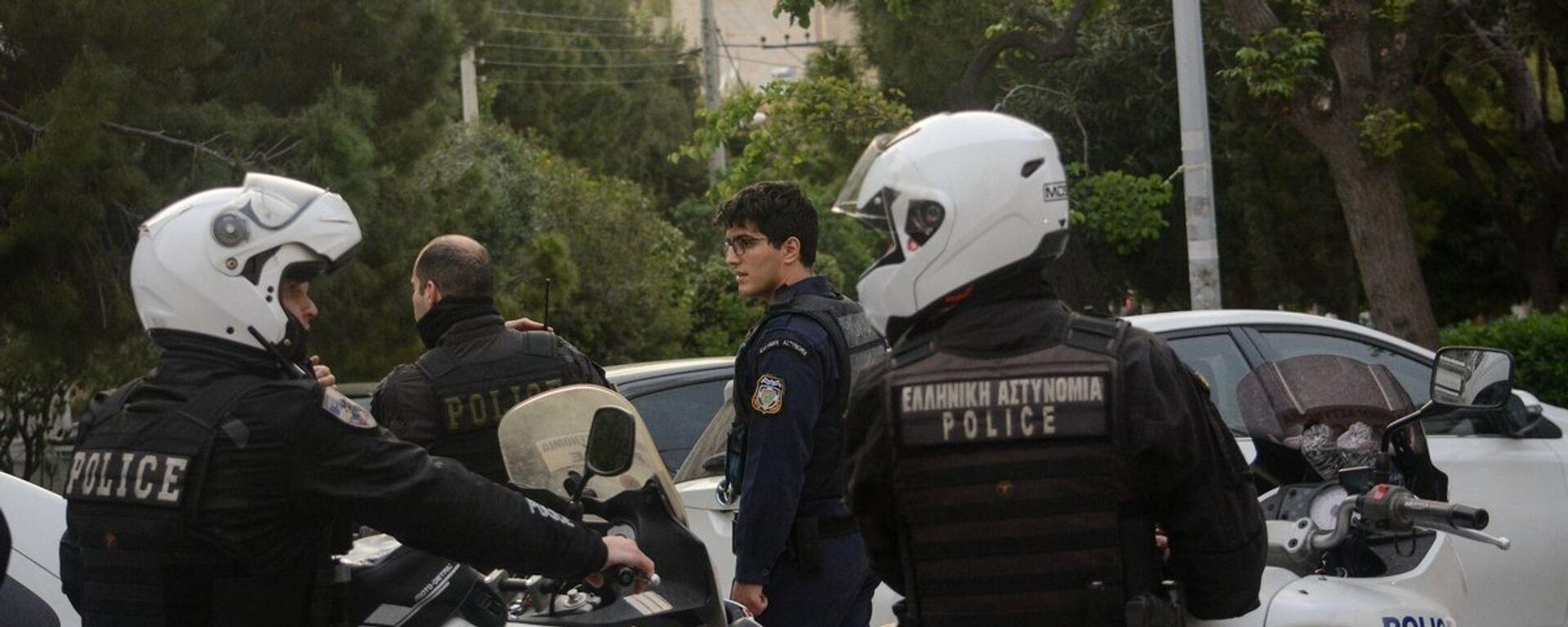 Αστυνομικοί - Sputnik Ελλάδα, 1920, 05.11.2020