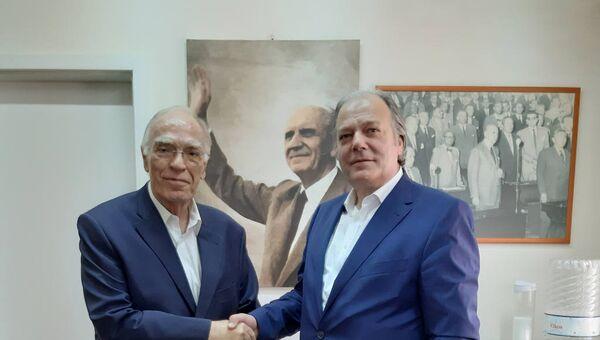 Βασίλης Λεβέντης - Κώστας Κατσίκης - Sputnik Ελλάδα