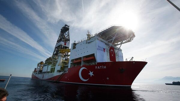 Το τουρκικό πλοίο Πορθητής - Sputnik Ελλάδα