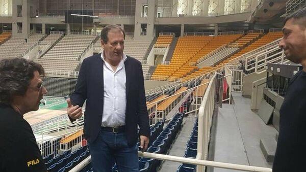 Ο ιδιοκτήτης της ΚΑΕ ΑΕΚ, Μάκης Αγγελόπουλος - Sputnik Ελλάδα