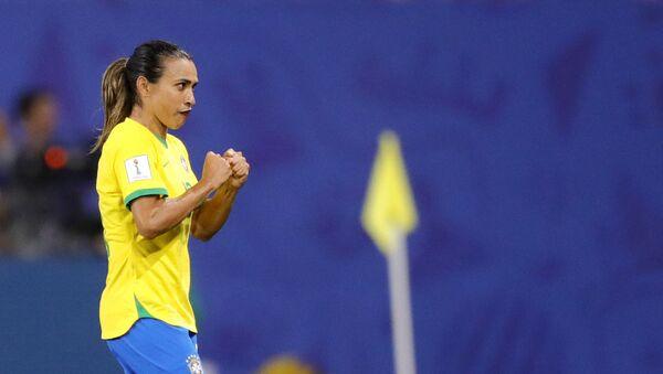 Η διεθνής Βραζιλιάνα παίκτρια, Μάρτα - Sputnik Ελλάδα