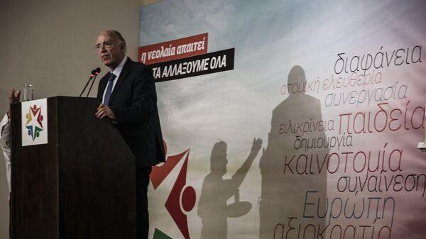 O πρόεδρος της Ένωσης Κεντρώων Βασίλης Λεβέντης - Sputnik Ελλάδα