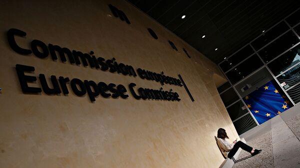 Το κτίριο της Ευρωπαϊκής Επιτροπής στις Βρυξέλλες στις 7 Φεβρουαρίου, 2018. - Sputnik Ελλάδα