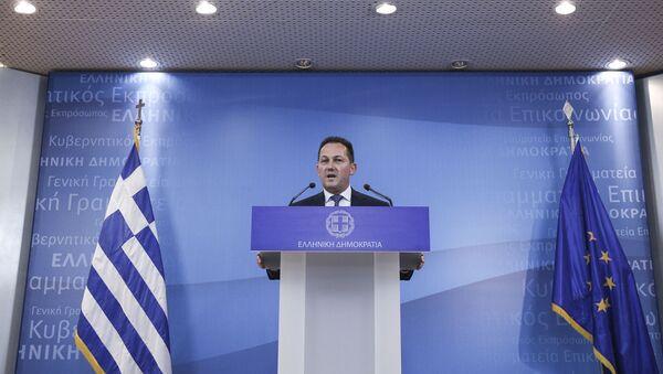 Ο Στέλιος Πέτσας - Sputnik Ελλάδα