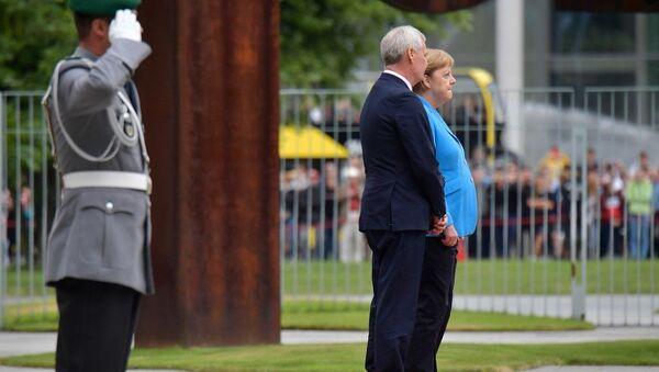 Η Άνγκελα Μέρκελ με τον φινλανδό πρωθυπουργό - Sputnik Ελλάδα