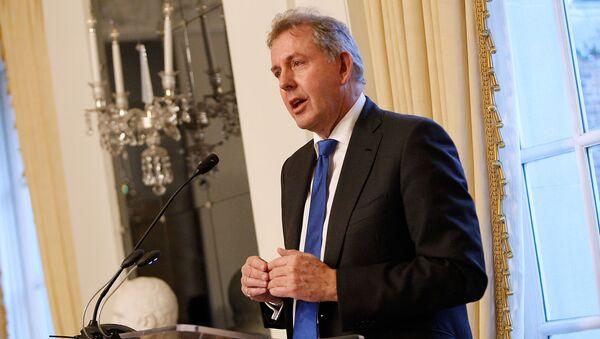 Ο παραιτηθείς πρέσβης της Βρετανίας στις ΗΠΑ Κιμ Νταρόκ - Sputnik Ελλάδα