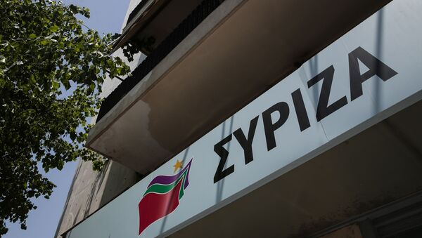 Συνεδρίαση της Πολιτικής Γραμματείας του ΣΥΡΙΖΑ. - Sputnik Ελλάδα