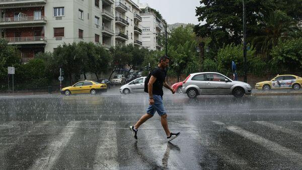Βροχόπτωση στην Αθήνα, 17 Ιουνίου, 2018 - Sputnik Ελλάδα